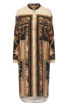 Женская блузка BALMAIN разноцветного цвета, арт. UF02703/I577   Фото 1