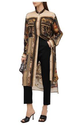 Женская блузка BALMAIN разноцветного цвета, арт. UF02703/I577   Фото 2