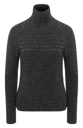 Женский кашемировый свитер RALPH LAUREN серого цвета, арт. 290820251 | Фото 1