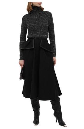 Женский кашемировый свитер RALPH LAUREN серого цвета, арт. 290820251 | Фото 2