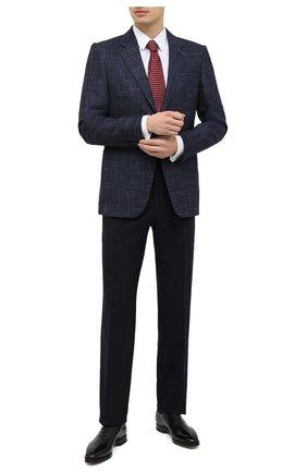Мужские кожаные оксфорды BALLY черного цвета, арт. SC0LDER/600 | Фото 2 (Материал внутренний: Натуральная кожа; Стили: Классический)