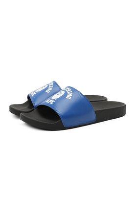 Мужские шлепанцы BAPE синего цвета, арт. 1G20191011 | Фото 1