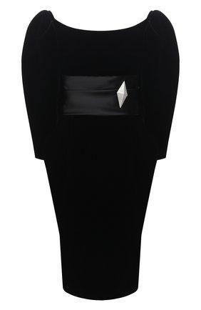 Женское платье ALEXANDRE VAUTHIER черного цвета, арт. 204DR1380 1364-204 | Фото 1
