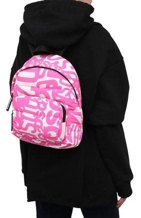 Женский рюкзак DSQUARED2 розового цвета, арт. BPW0014 16803508 | Фото 2