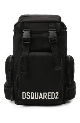Мужской текстильный рюкзак DSQUARED2 черного цвета, арт. BPM0049 11702365 | Фото 1