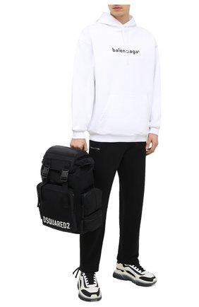 Мужской текстильный рюкзак DSQUARED2 черного цвета, арт. BPM0049 11702365 | Фото 2