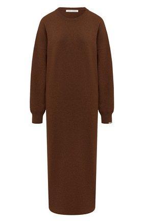 Женское кашемировое платье EXTREME CASHMERE коричневого цвета, арт. 106/WEIRD | Фото 1