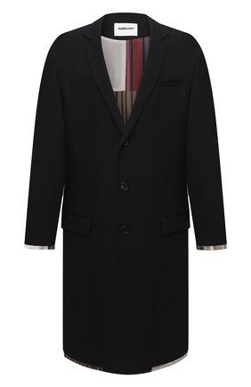 Мужской двустороннее пальто AMBUSH черного цвета, арт. BMER001F20FAB001 | Фото 1