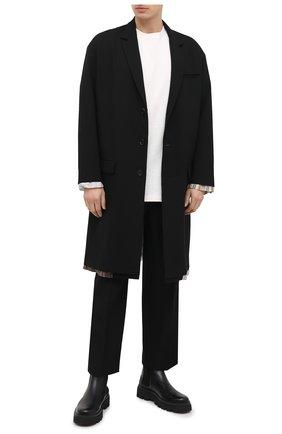 Мужской двустороннее пальто AMBUSH черного цвета, арт. BMER001F20FAB001 | Фото 2