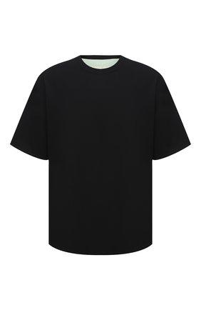 Мужская двусторонняя футболка AMBUSH черного цвета, арт. BMAA003F20JER001 | Фото 1