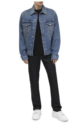 Мужская двусторонняя футболка AMBUSH черного цвета, арт. BMAA003F20JER001 | Фото 2
