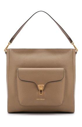 Женская сумка beat soft COCCINELLE бежевого цвета, арт. E1 GF6 13 01 01 | Фото 1
