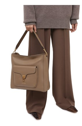 Женская сумка beat soft COCCINELLE бежевого цвета, арт. E1 GF6 13 01 01 | Фото 2