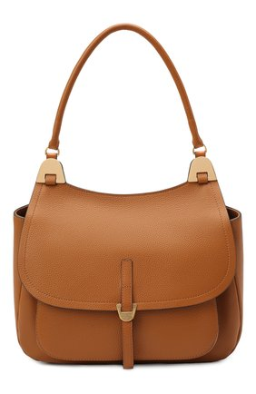 Женская сумка fauve large COCCINELLE коричневого цвета, арт. E1 G00 12 01 01 | Фото 1