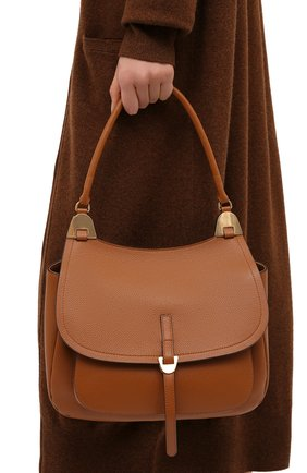 Женская сумка fauve large COCCINELLE коричневого цвета, арт. E1 G00 12 01 01 | Фото 2