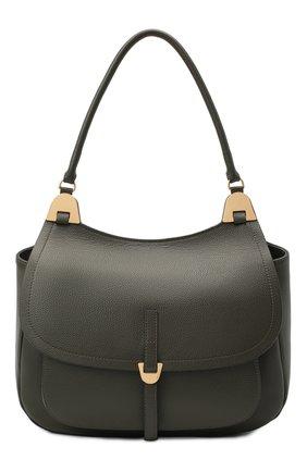 Женская сумка fauve large COCCINELLE зеленого цвета, арт. E1 G00 12 01 01 | Фото 1