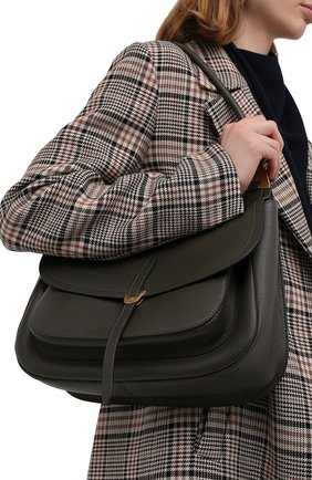 Женская сумка fauve large COCCINELLE зеленого цвета, арт. E1 G00 12 01 01 | Фото 2