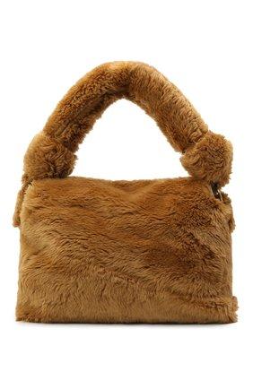 Женская сумка DRIES VAN NOTEN бежевого цвета, арт. 202-11516-902 | Фото 1