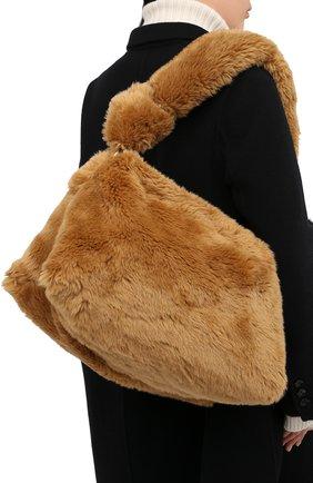 Женская сумка DRIES VAN NOTEN бежевого цвета, арт. 202-11516-902 | Фото 2