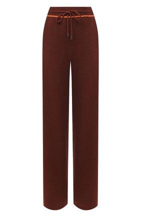 Женские кашемировые брюки LORO PIANA бордового цвета, арт. FAL3597 | Фото 1