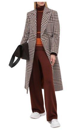Женские кашемировые брюки LORO PIANA бордового цвета, арт. FAL3597 | Фото 2