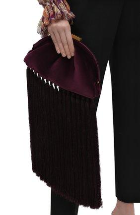 Женский клатч ZIMMERMANN фиолетового цвета, арт. 3270F20 | Фото 2