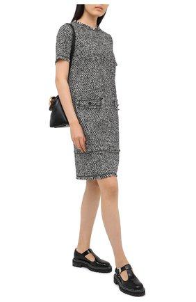 Женское платье ESCADA SPORT черно-белого цвета, арт. 5034291 | Фото 2