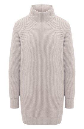 Женский кашемировый свитер MOORER серого цвета, арт. DAMES-CWS/A20MW04CA22   Фото 1