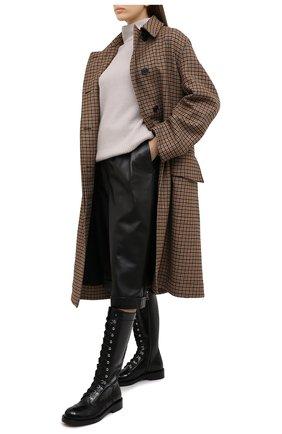 Женский кашемировый свитер MOORER серого цвета, арт. DAMES-CWS/A20MW04CA22   Фото 2