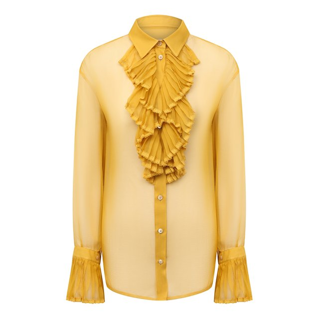 Шелковая блузка Maison Margiela