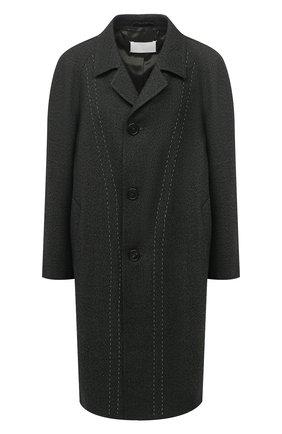 Женское шерстяное пальто MAISON MARGIELA темно-зеленого цвета, арт. S29AA0256/S53407   Фото 1