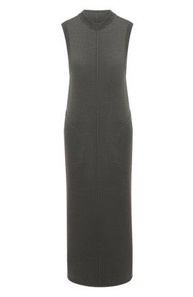 Женское платье PETER DO темно-серого цвета, арт. PD-FW20-740/YN007 | Фото 1
