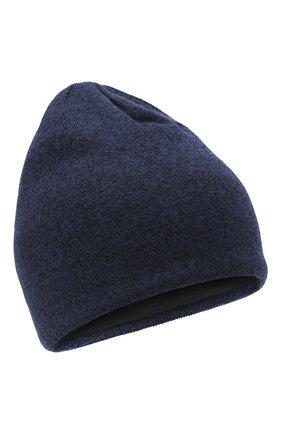 Мужская шерстяная шапка  CANADA GOOSE синего цвета, арт. 5116M | Фото 1