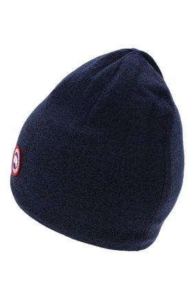 Мужская шерстяная шапка  CANADA GOOSE синего цвета, арт. 5116M | Фото 2