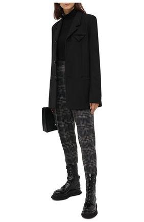 Женские кожаные ботинки PREMIATA черного цвета, арт. M5912/G0MMALACCA/FRAMIRE   Фото 2