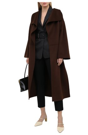 Женский шерстяной жакет BRUNELLO CUCINELLI коричневого цвета, арт. MB5808929 | Фото 2