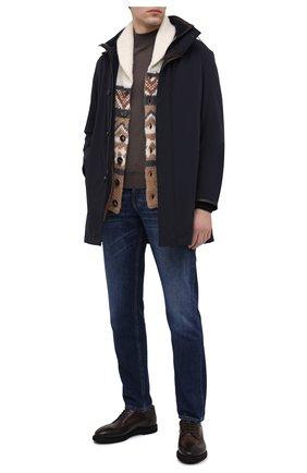 Мужской кожаные дерби SILVANO SASSETTI темно-коричневого цвета, арт. S151129504DREVDTDM. | Фото 2