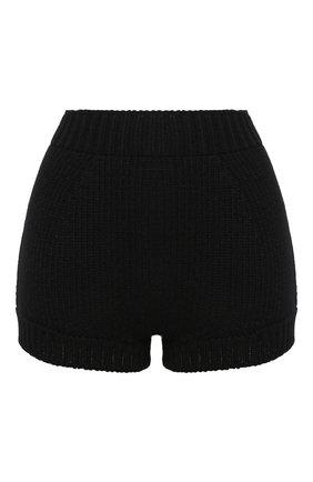 Женские кашемировые шорты DOLCE & GABBANA черного цвета, арт. FXA91T/JAW7J | Фото 1