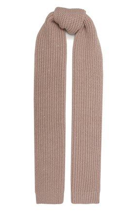Мужские шарф из кашемира и шелка BRUNELLO CUCINELLI розового цвета, арт. M32373989 | Фото 1