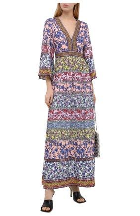 Женское платье из вискозы ALICE + OLIVIA разноцветного цвета, арт. CC004P75562 | Фото 2