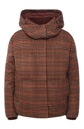 Женский пуховая куртка LORO PIANA бордового цвета, арт. FAL4883 | Фото 1