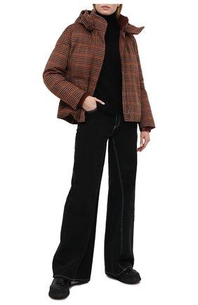Женский пуховая куртка LORO PIANA бордового цвета, арт. FAL4883 | Фото 2
