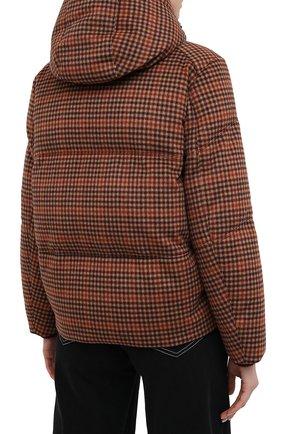 Женский пуховая куртка LORO PIANA бордового цвета, арт. FAL4883 | Фото 4