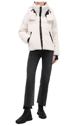 Женский пуховая куртка SAM белого цвета, арт. XW02940DA | Фото 2