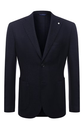 Мужской шерстяной пиджак L.B.M. 1911 темно-синего цвета, арт. 2817/05137   Фото 1