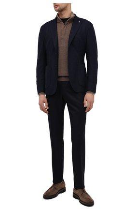 Мужской шерстяной пиджак L.B.M. 1911 темно-синего цвета, арт. 2817/05137   Фото 2
