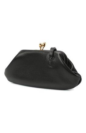 Женские кожаный кошелек JIL SANDER черного цвета, арт. JSWR840140-WRS01036 | Фото 2