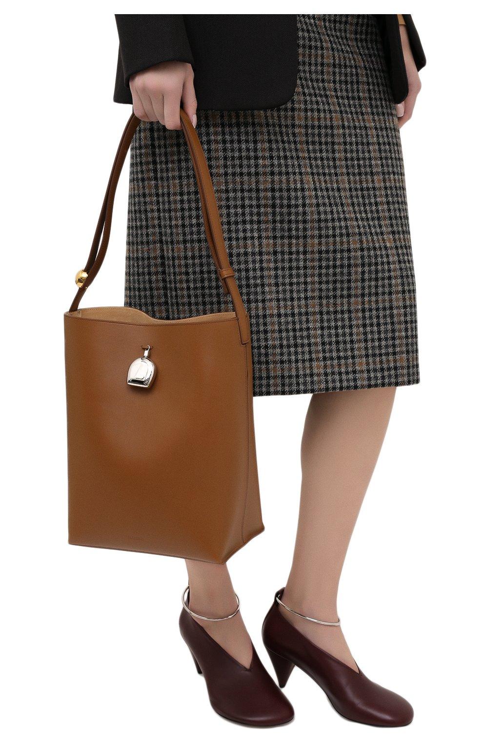 Женская сумка constantin JIL SANDER коричневого цвета, арт. JSPR852449-WRB00076V | Фото 2
