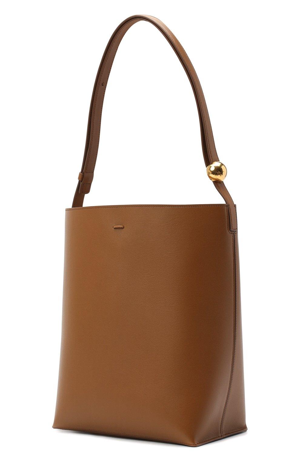 Женская сумка constantin JIL SANDER коричневого цвета, арт. JSPR852449-WRB00076V | Фото 3