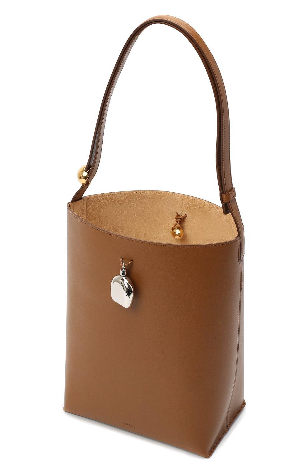 Женская сумка constantin JIL SANDER коричневого цвета, арт. JSPR852449-WRB00076V | Фото 4